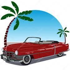 vintage convertible vintage convertible car u2014 stock vector puchalt 21235627