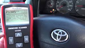 2002 toyota camry ignition coil toyota engine light turn p1305 ignition coil replace fault