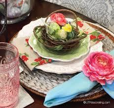 Easter Table Setting Easy Easter Table Setting Ideas Utr Déco Blog