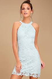 blue lace dress lace dress light blue dress sleeveless dress 64 00