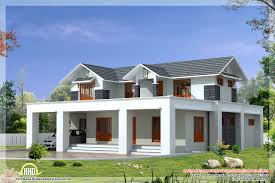 modern roof house in 2600 sq new kerala modern roof house