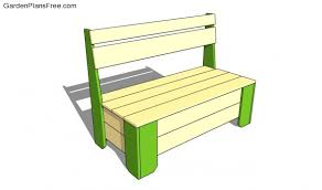 Garden Storage Bench Garden Storage Bench Plans Free Garden Plans How To Build