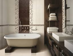 Gray And Brown Bathroom by Download Brown Bathroom Color Ideas Gen4congress Com