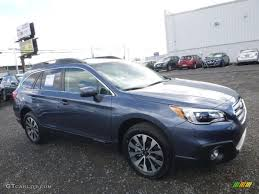 subaru outback black interior 2017 twilight blue metallic subaru outback 2 5i limited 117247750