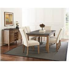 Silver Dining Room Chairs by Steve Silver Db500mt Db500tl Debby 42 Top Bluestone Dining Table