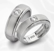 love bands rings images Classic platinum solitaire love bands sj pto 101 jewelove jpg