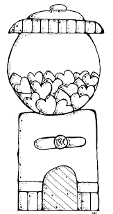 mailman coloring pages melonheadz gumball machine