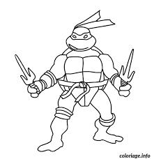 coloriage tortue ninja 191 dessin à imprimer coloriage