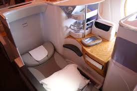 Emirates Airbus A380 Interior Business Class Emirates Airbus A380 Business Class Sydney Dubai Airline Review