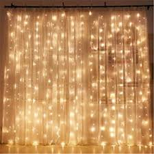 Bedroom Light Decorations Twinkle 300 Led Window Curtain String Light For