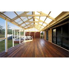 softwoods 4 8 x 3 8m pre cut gable attached pergola kit suntuf