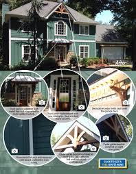 Home Exterior Decorative Accents Best Home Exterior Facelift Remodel Award 2013 Atlanta