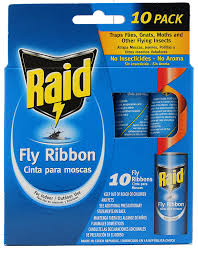 fly ribbon raid fly ribbon bug insect catcher 10 pack pet