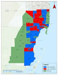 Miami Dade Map C Land Use Land Cover In Miami Dade County Zip Code Level