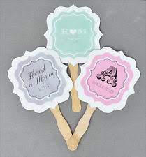 personalized fans for weddings personalized wedding fans ebay