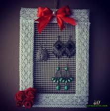 How To Make A Decorative - how to make a decorative hanging diy jewelry organizer diy state