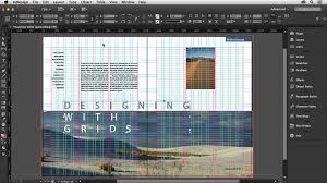 in design designing with grids in indesign