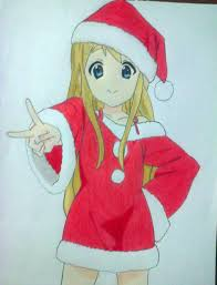 tsumugi kotobuki merry christmas fan art draw by evilcaio on