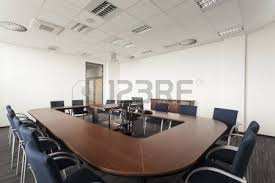 Circle Meeting Table Abstract Chair In Circle Stock Photo Picture And Royalty Free