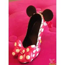 minnie mouse shoe ornament décoration arbre de noel ornement sapin