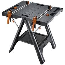folding work table home depot worx pegasus folding work table has cls and a sawhorse mode