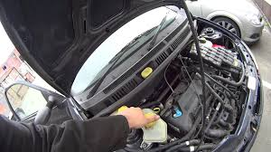 ford ka filled the power steering with water youtube