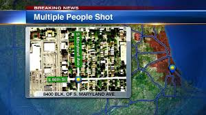 Chicago Shootings Map by 2 Brothers Killed 5 Others Wounded In Chatham Shooting