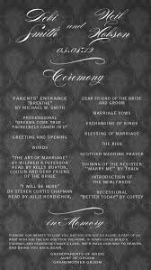 Fun Wedding Programs 25 Best Wedding Programs Images On Pinterest Wedding Program
