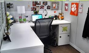 Vase Table L Chic Cubicle Decorations And White L Shape Desk Also Black