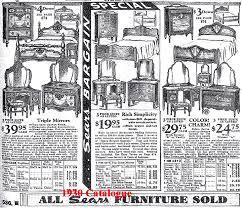 1930 s sears roebuck bedroom set