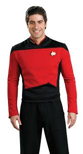 halloween shirts plus size amazon com star trek the next generation deluxe shirt costume