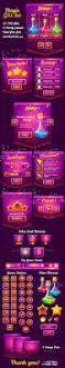 magical violet glossy game ui pack game ui violets and gaming