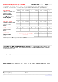replacethis blank monthly sales report template designed by