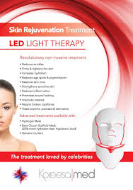 light therapy for eczema koreesamed led mask