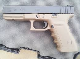 how do i change the color of my frame the leading glock