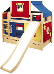 loft beds firehouse loft bed with slide quick view beds