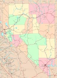 Political Map United States by Nevada City Map