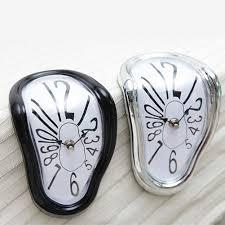popular dial wall clock buy cheap dial wall clock lots from china melting clock twist dial wall clock modern design hanging decorative creative art home decoration china