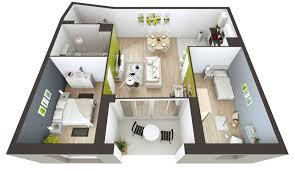 Plan De Maison En Longueur Plan Maison 200m2 3d