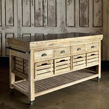 movable kitchen island crosley wood top portable rolling kitchen cart island