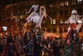 new york city halloween parade the nightmare before christmas puppets brandon hardy