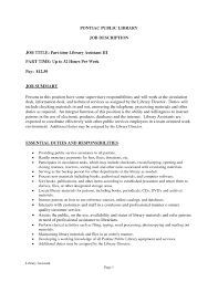 sle cv for library assistant resume sle of objective forrary assistant new dental toreto co