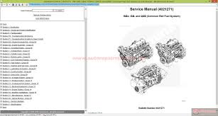 cummins isb isbe etc common rail fuel system service manual