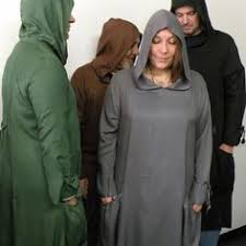 pagan ceremonial robes druid robe vague vintage robe dress
