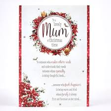 christmas cards for mum card factory