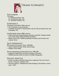 Resume Template For Kids Child Cv Template 28 Images Day Care Provider Resume Best