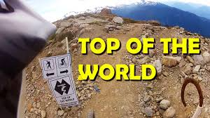 Whistler Trail Map Top Of The World Downhill Mtb Trail Whistler Bike Park Gopro
