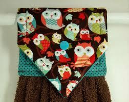owl kitchen decor etsy