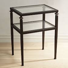 square glass end table square gl ideal glass end tables wall decoration and furniture ideas