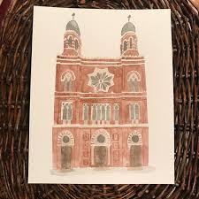 most unique wedding gifts custom watercolor portrait wedding venues churches places